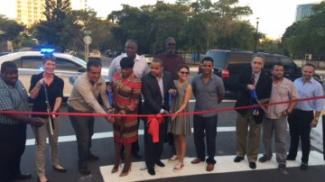 NE 2ND AVENUE ROADWAY IMPROVEMENT RIBBON CUTTING CEREMONY