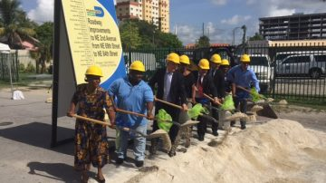 MIAMI DADE COUNTY DEPARTMENT OF TRANSPORTATION AND PUBLIC WORKS NE 2ND AVENUE DESIGN AND BUILD GROUND BREAKING CEREMONY