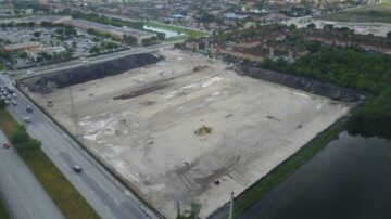 JVA started construction of SR 836 Express Bus Service Park-and-Ride/Bus Terminal Tamiami Station