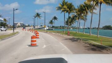 JVA started the Enhancements Project for the Broad Causeway at the Town of Bay Harbor Islands